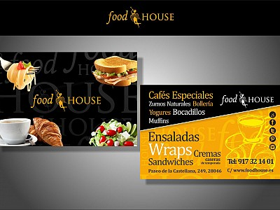 Foodhouse flyer